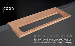 EVERYONE MILLWORK PULLS COPPER SELECTION